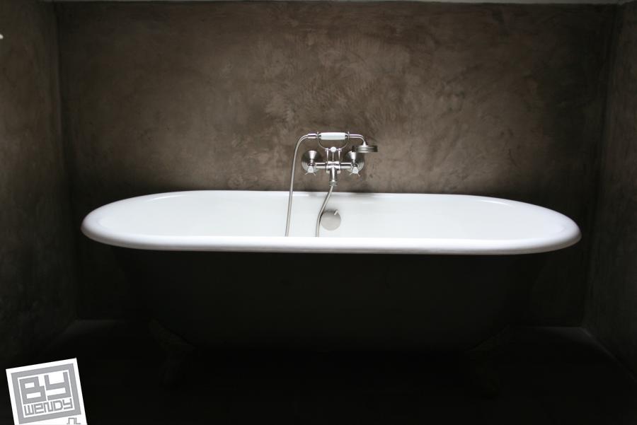 Badkamer Met Tadelakt : Badkamer tadelakt wendy schoenaker decorateurs