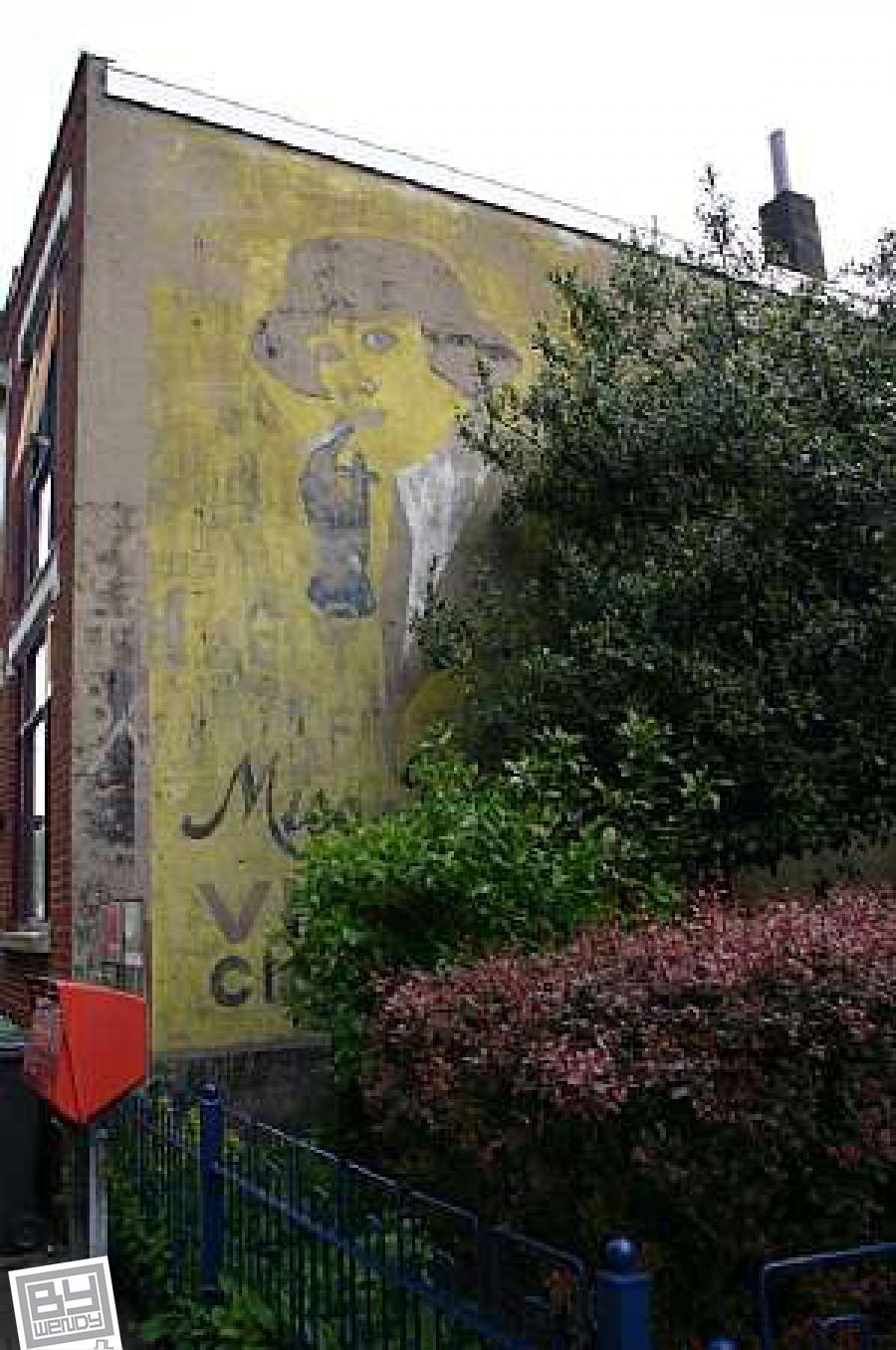 September 2008 - Gevelreclame - Bergen op Zoom