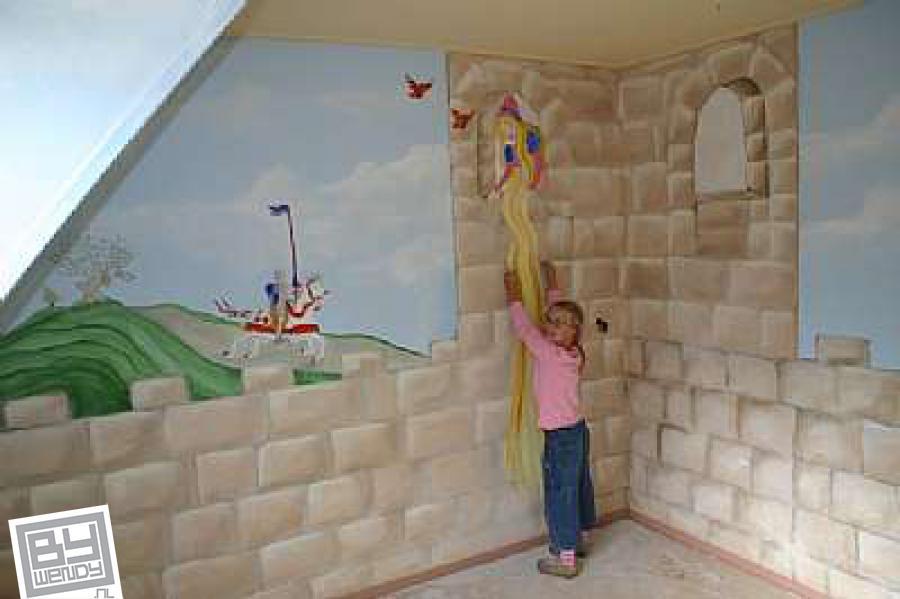 Prinses Kinderkamer Set : Prinses en ridder wendy schoenaker decorateurs