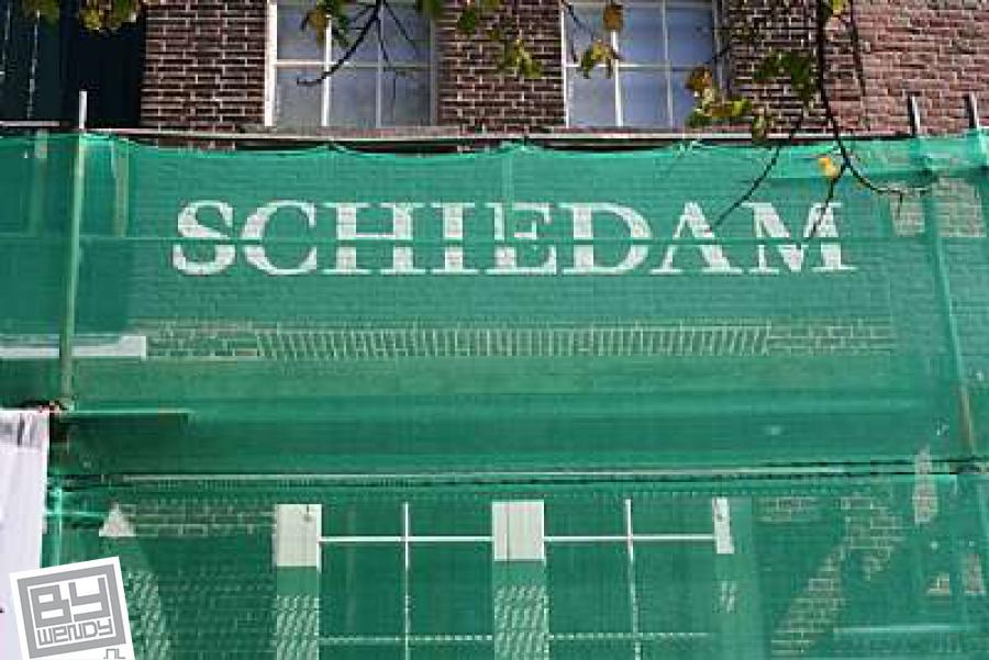 September 2009 - Gevelreclame - Schiedam