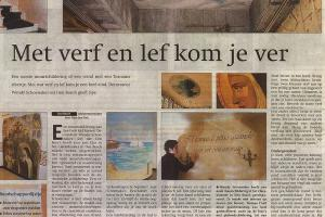 Met verf en lef kom je ver, Brabants Dagblad